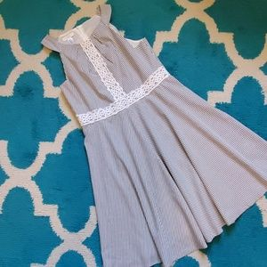 London times fit and flare dress size 14